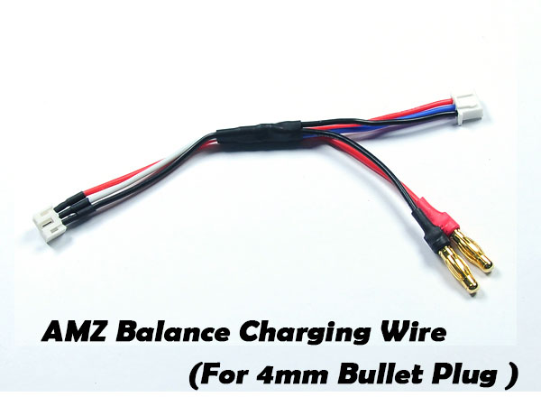 ATOMIC Cable de charge pour Lipo AMZ/AMR/BZ, IC-091