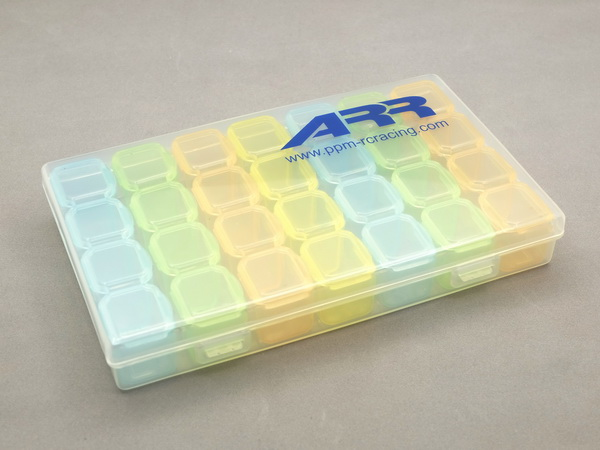 RC AURORA Boite de Rangement 28 compartiments, ABX-001