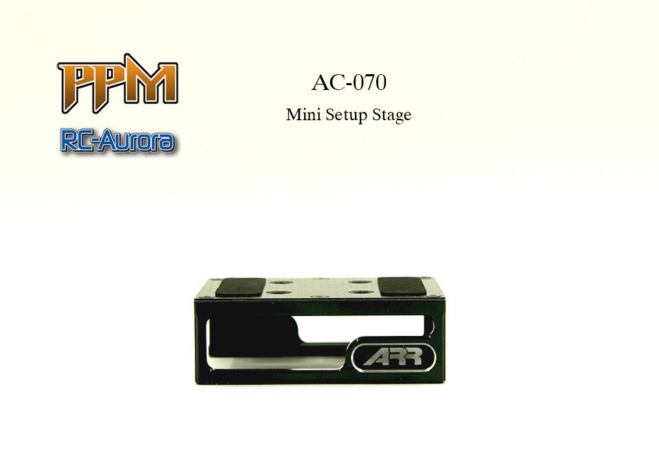 RC AURORA Support de stand Mini-z, AC-070V2