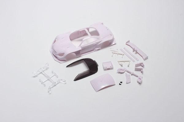 CARROSSERIE LEXUS SC430 GT500 2012 MINI-Z (A PEINDRE) Type MM 98mm, MZN156