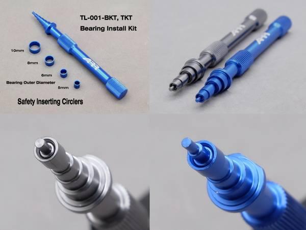RC AURORA Outil bleu de montage/démontage roulement Bleue, TL-001-BKT