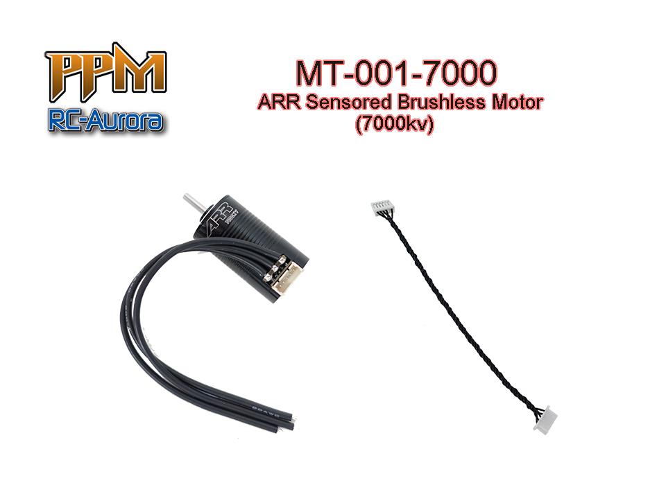 RC AURORA Brushless 7000Kv Sensored, MT-001-7000