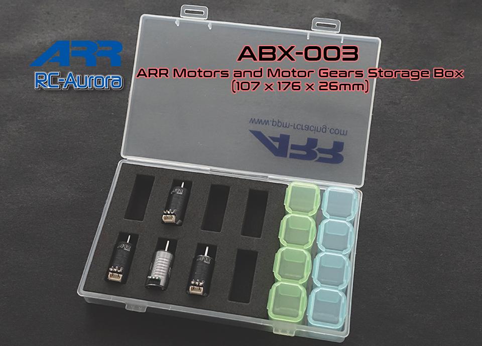 RC AURORA Boite de rangement moteur miniz, ABX-003