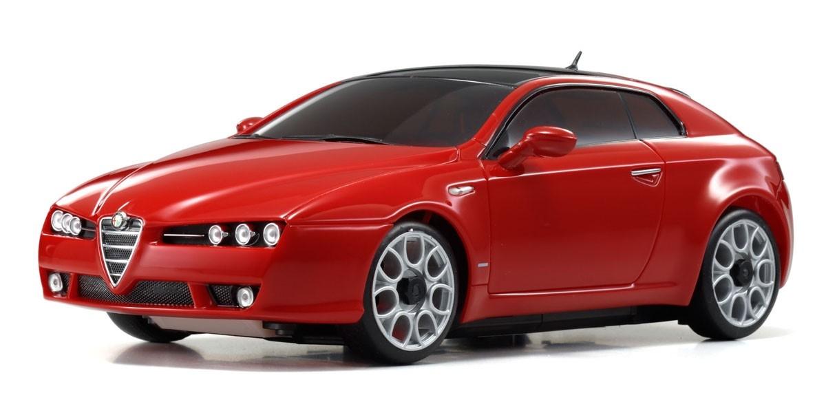 KYOSHO AUTOSCALE Mini-Z ALFA ROMEO BRERA ROUGE (MA010), MZXX408R