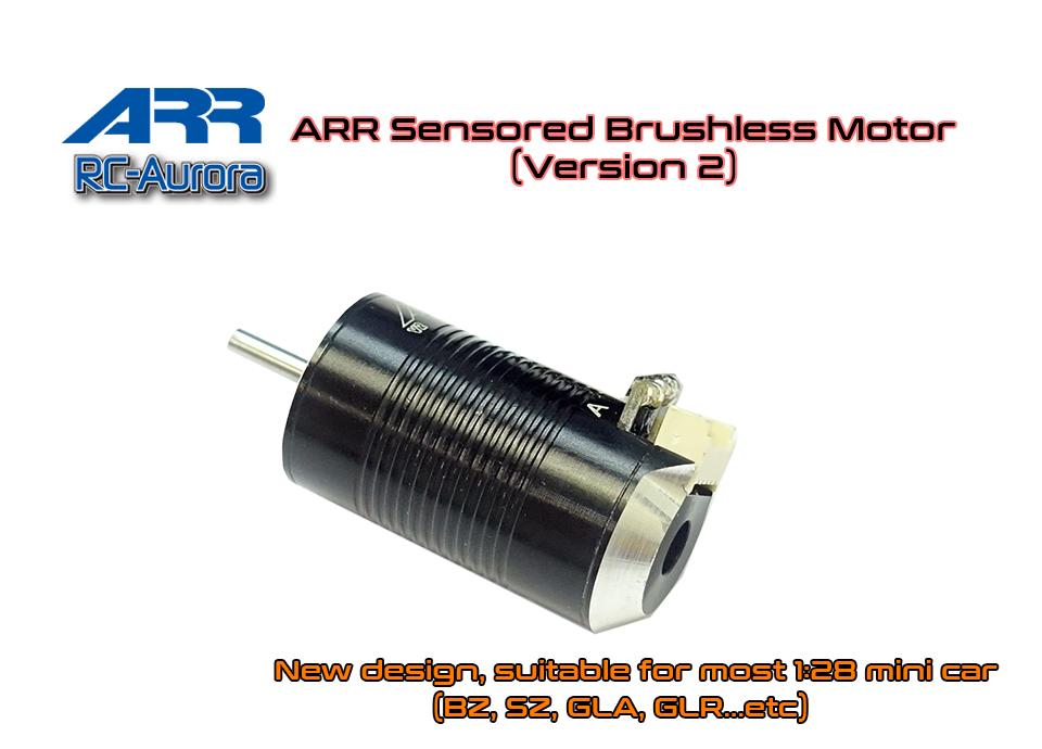 RC AURORA Brushless V2 5500Kv Sensored, MT-002-5500