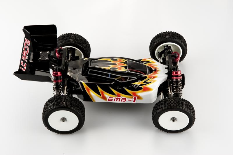 LC RACING EMB 1/14 Buggy RTR, EMB-1L