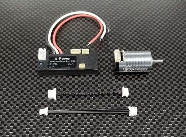 GL RACING Combo Complet 3500 kv, GLX-RJ28-350