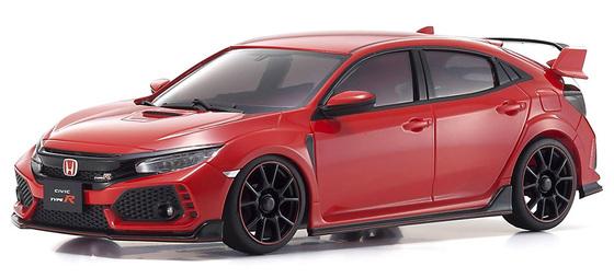 Kyosho Autoscale Honda Civic Type R rouge, MZP445R