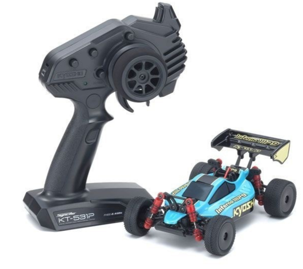 Kyosho Mini-Z Buggy MB-010 Inferno MP9 TKI3 + KT531P RTR, 32091EGBK