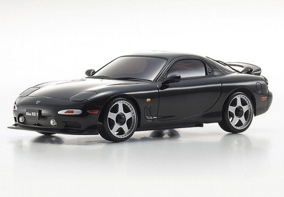 KYOSHO AUTOSCALE Mazda RX-7 FD3S Noire, MZP425BK