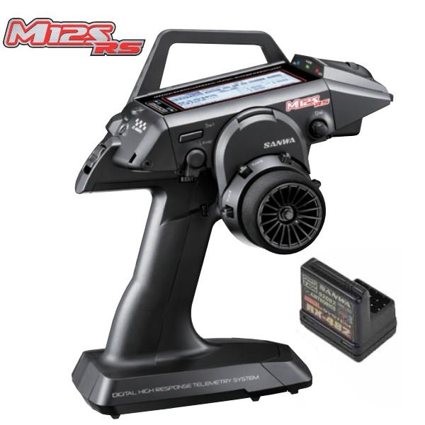 SANWA RADIO M12S-RS PC + RECEPTEUR RX482, 101A32371A