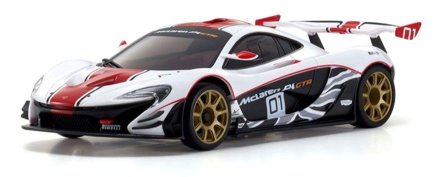 KYOSHO ASC MR03RWD McLaren P1? GTR White/Red, MZP235WR