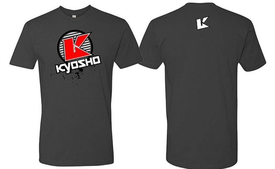 KYOSHO T-Shirt K-Circle Gris - Taille M, 88009M