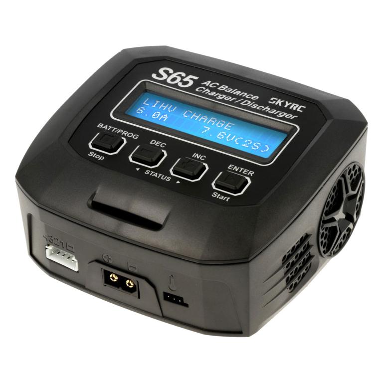 SkyRC S65 AC LiPo 2-4s 6A 65W Discharger 2A 10W , SK100152