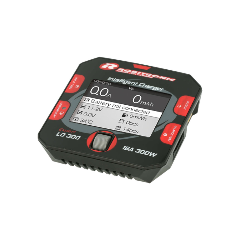 ROBITRONIC Expert LD 300 Charger LiPo 1-6s 16A 300W DC , R01014