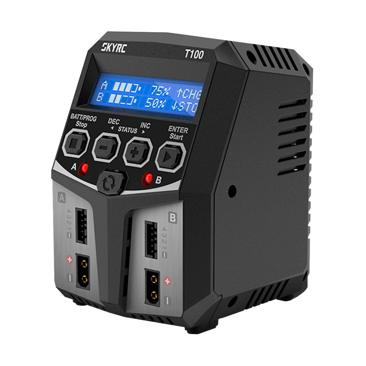 SkyRC T100 AC DUO LiPo 2-4s 5A 2x50W Charger , SK100162