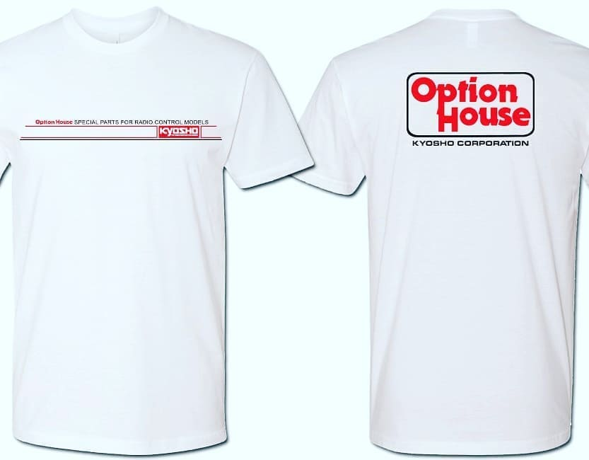 KYOSHO TEE-Shirt OPTION HOUSE Taille M, 88OH-L