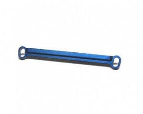 ATOMIC Barre de direction alu bleu 1° pour MR02, AR-081