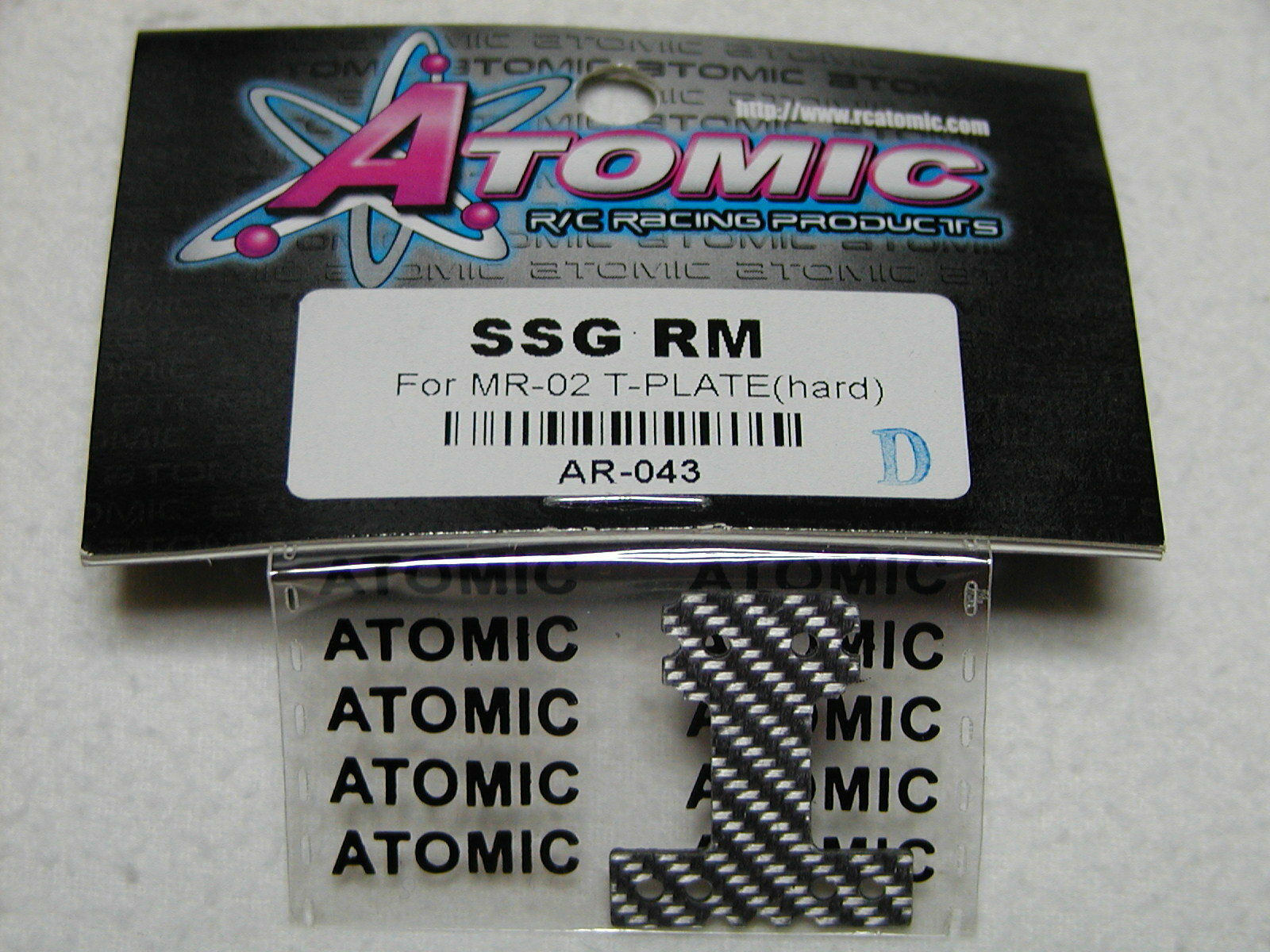 ATOMIC T Hard SSG Miniz MR02 RM, AR-043