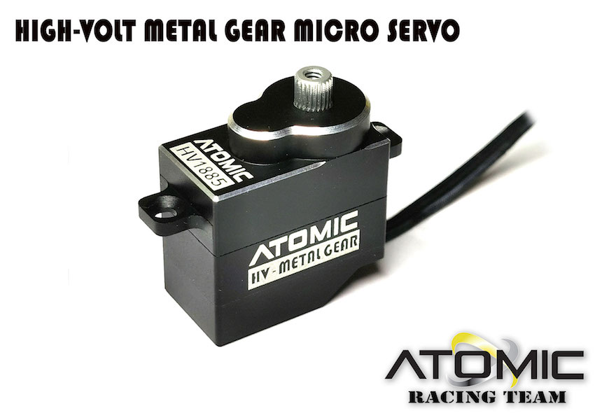 ATOMIC Servo HV Atomic Pignon métal, AESC02