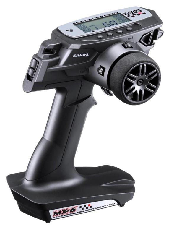 SANWA RADIO MX-6 + RECEPTEUR RX391W WATERPROOF, 101A32571A