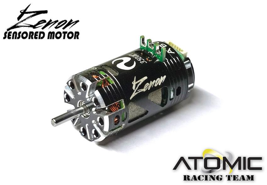 ATOMIC Moteur Zenon Brushless Sensored 5500KV, MO-043