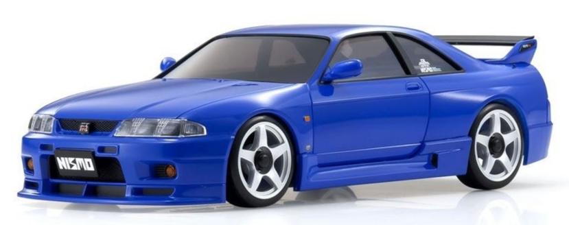 KYOSHO ASC MA020N-L NISSAN GT-R NISMO (R33) Blue, MZP447BL