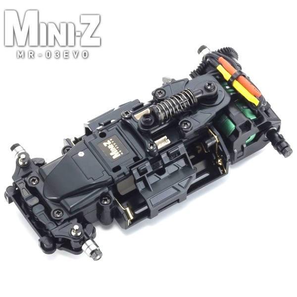 KYOSHO - MINI-Z MR03 EVO CHASSIS SET (N-MM2) 4100KV, 32794B