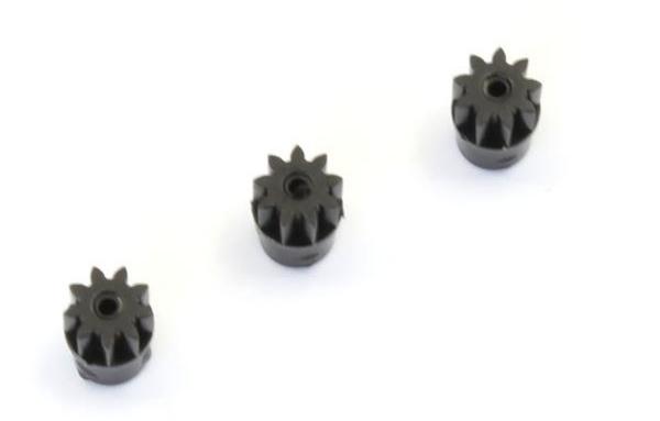 KYOSHO Pignon moteur Miniz series 9 dents (3pcs), MZ6BK-09