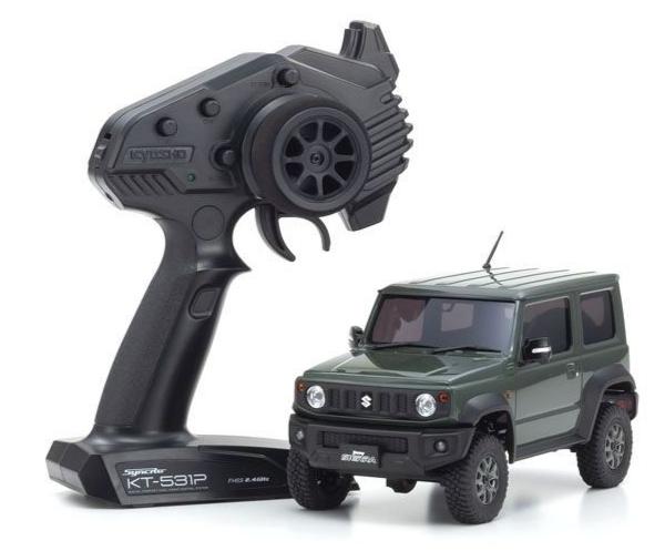 Pré-commande KYOSHO MINI-Z 4×4 Crawler Series Ready Set Suzuki Jimny Sierra Kinetic Green, 32523GR