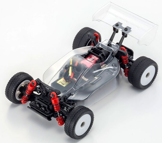 KYOSHO MINI-Z Buggy MB-010VE 2.0 with FHSS2.4GHz System INFERNO MP9 TKI Clear Body, 32292