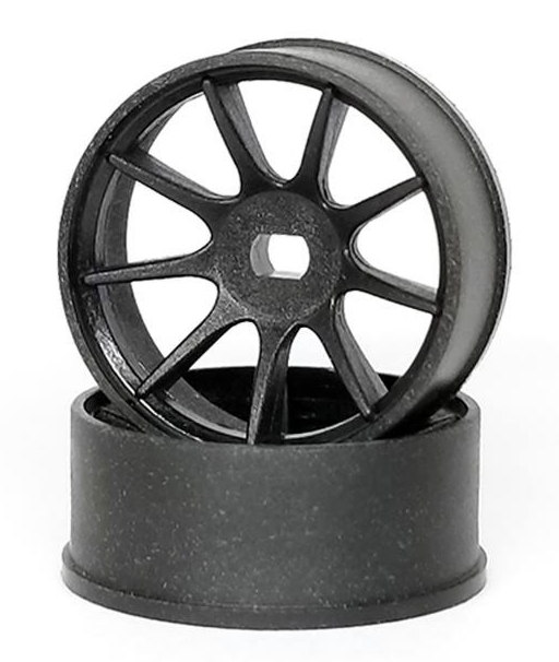 DXR Jantes arrière AWD MP1 en matériau composite carbone Déport -1, XRM001-W-1