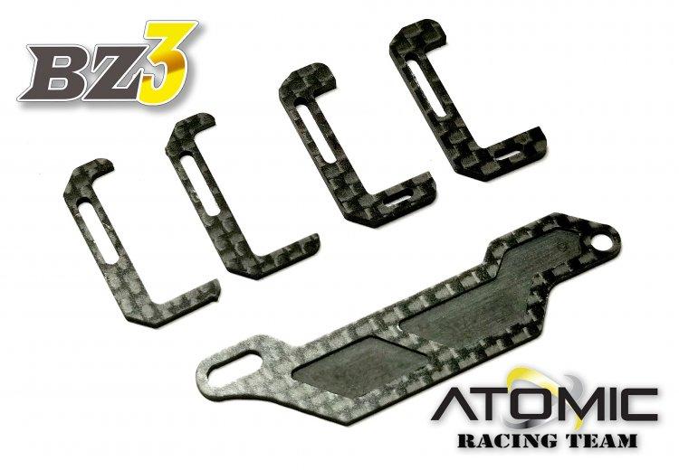 ATOMIC Fixation de batterie carbone BZ3 MID, BZ3-UP06P3