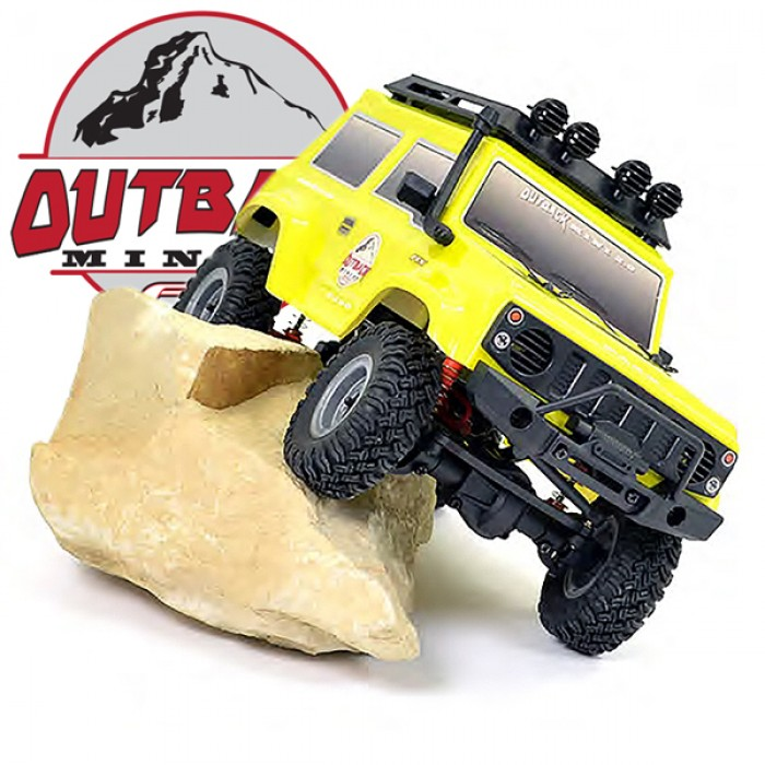 FTX Outback Mini 2.0 PASO 1/24 RTR 4WD YELLOW,  FTX5508Y