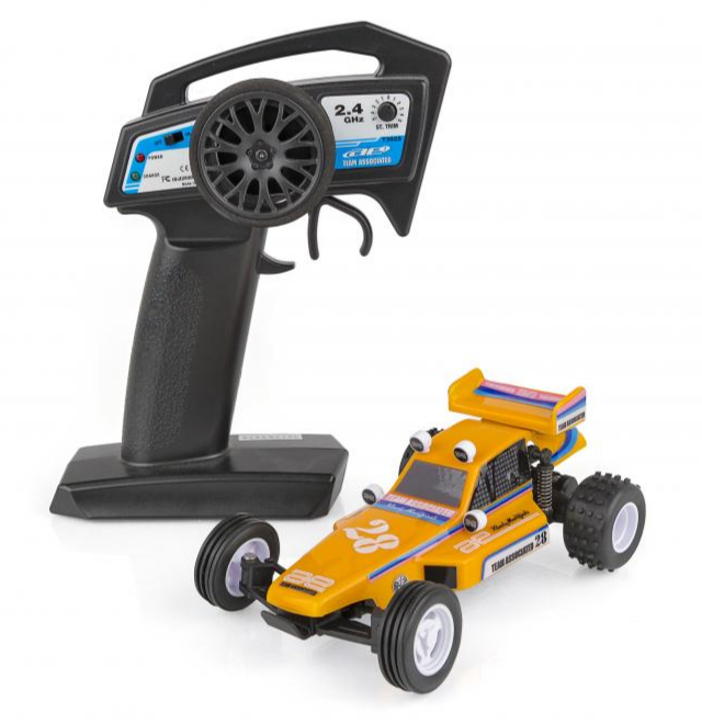 TEAM ASSOCIATED AE QUALIFIER SERIES RC28 1:28 RACE BUGGY RTR, AS20152