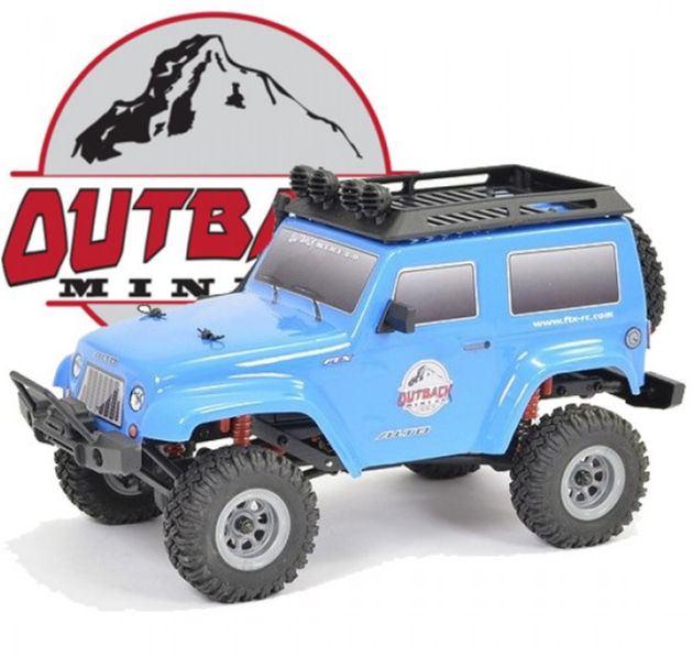 FTX OUTBACK MINI 2.0 ALTO 1:24 READY-TO-RUN W/PARTS-BLUE,  FTX5509BLP