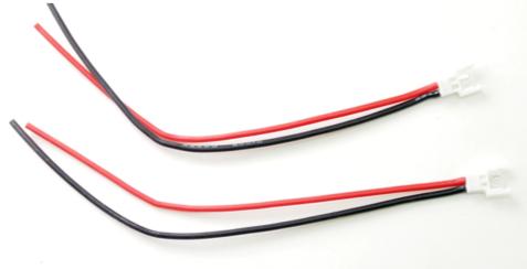 PN RACING Câble mâle 130mm x 22awg MOLEX (2 pièces), 700256