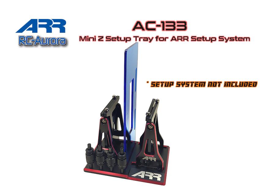 RC AURORA Stand de rangement de banc 1/28, AC-133