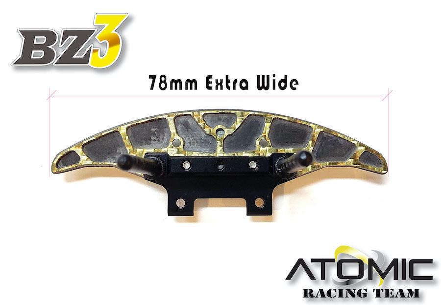 ATOMIC Support de carro en alu complet, AW-018