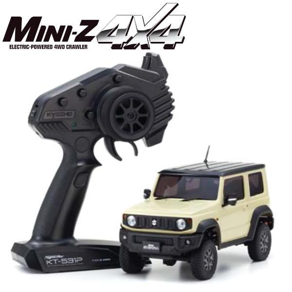 KYOSHO Mini-Z 4X4 MX-01 Suzuki Jimny Sierra Chiffon Ivoire KT531P, 32523IV