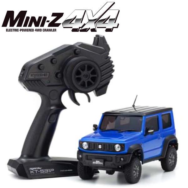 KYOSHO Mini-Z 4X4 MX-01 Suzuki Jimny Sierra Chiffon Bleu KT531P, 32523MB