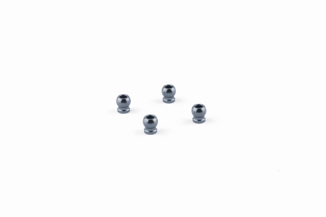 MPOWER Boules d\'amortisseur en aluminium gris métal (4) AWD, MAU1008U