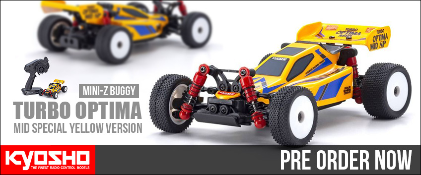 hp kyosho mini z buggy turbo optima mid special yellow version