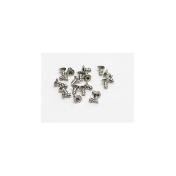pn-racing-700344-vis-titane-m2x4-hexagonale-a-tete-plate-filetage-pour-plastique-20-pieces