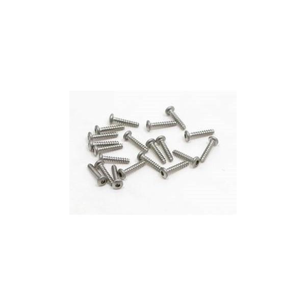 pn-racing-700330-vis-titane-m2x10-hexagonale-a-tete-ronde-filetage-pour-plastique-20-pieces