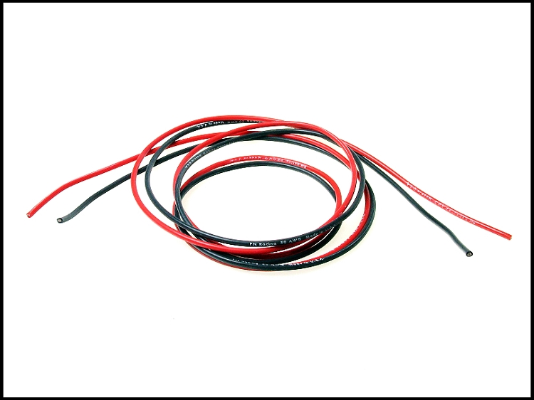 PN Racing Fil Silicone 20AWG moteur, 700220