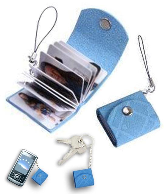 mini album photo bleu ciel mini book photos cadeau. Black Bedroom Furniture Sets. Home Design Ideas