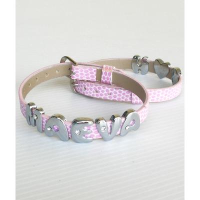 Je personnalise mon bracelet