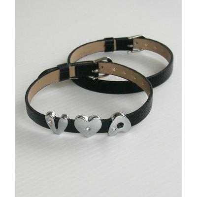 Bracelet blanc à personnaliser