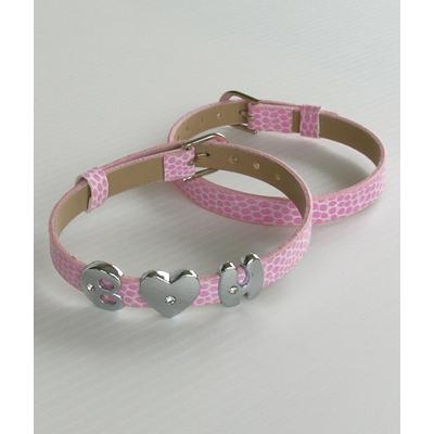 Bracelet personnalisable rose
